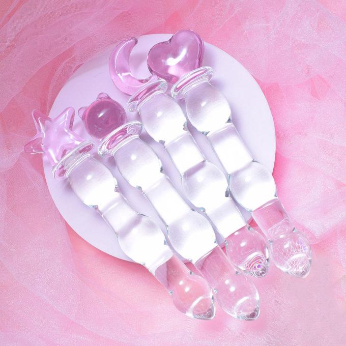Magical Sakura Glass Dildo