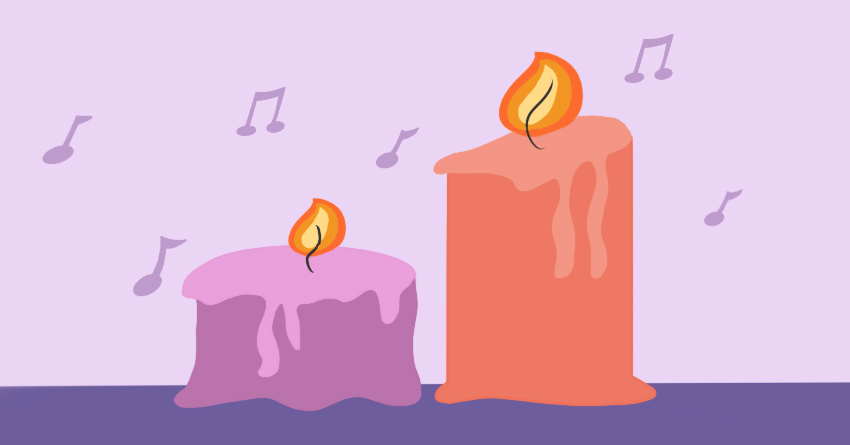 Set the mood with candle lights and sexy music - Spice Up Your Sex Life