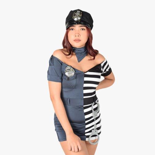 Prison Guard Police Costume