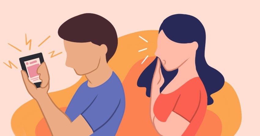 lurking their ex's social media  - rebound relationship