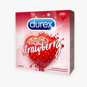 Durex Spice Sensual Strawberry 3s