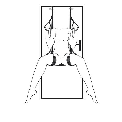 Rock-a-Bod Over The Door Sex Swing
