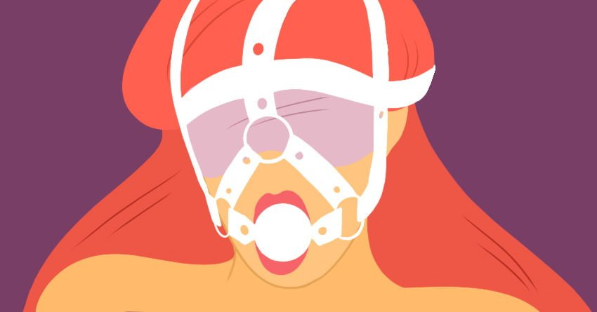What is a Ball Gag - Harness Gag