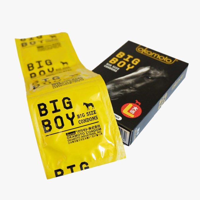 Okamoto Big Boy Condoms 3s