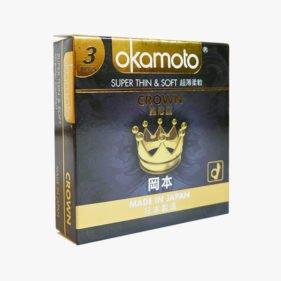 Okamoto Crown Condoms 3s