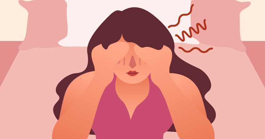 Underwire bras can cause headaches