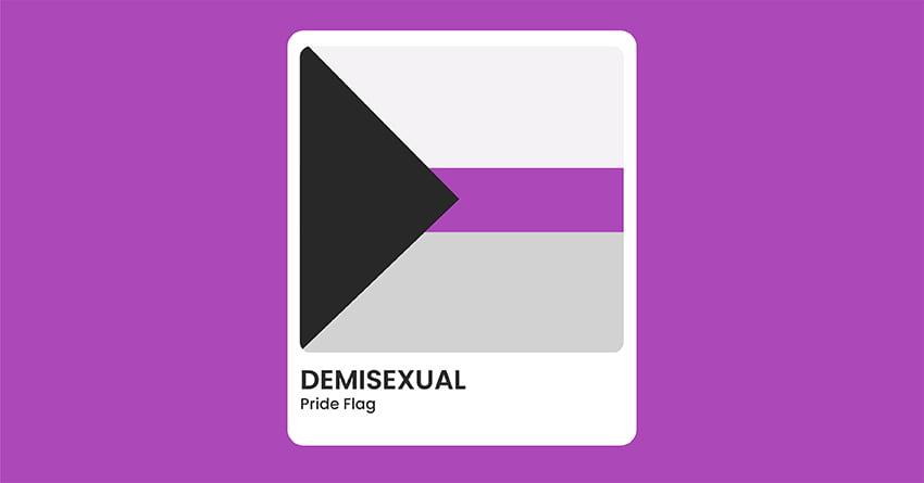 Demisexual Pride Flag