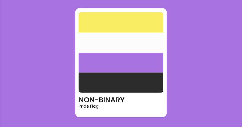 Non-Binary Pride Flag
