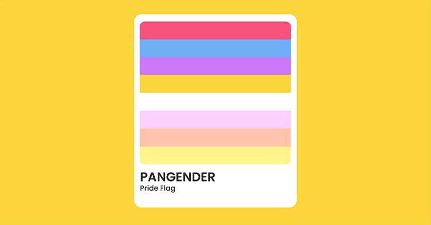 Pangender Pride Flag