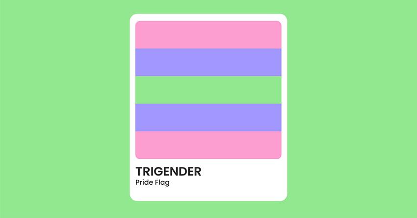 Trigender Pride Flag