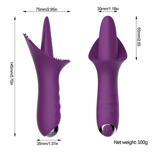 Playful Piper Tongue Vibrator
