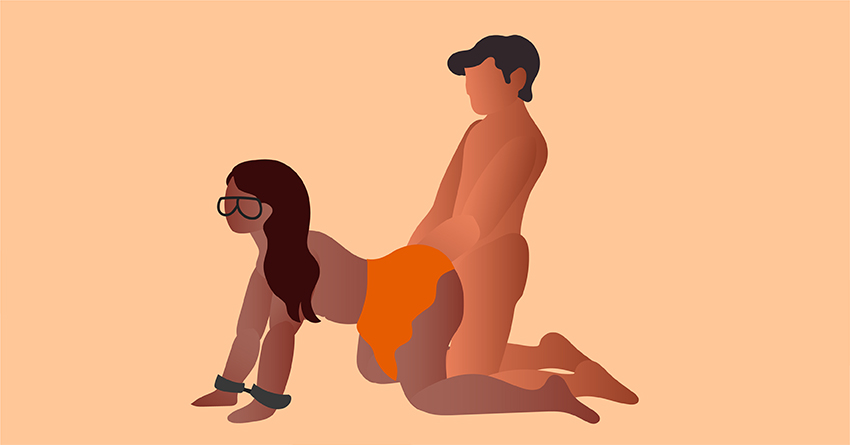Try Halloween-inspired sex positions.