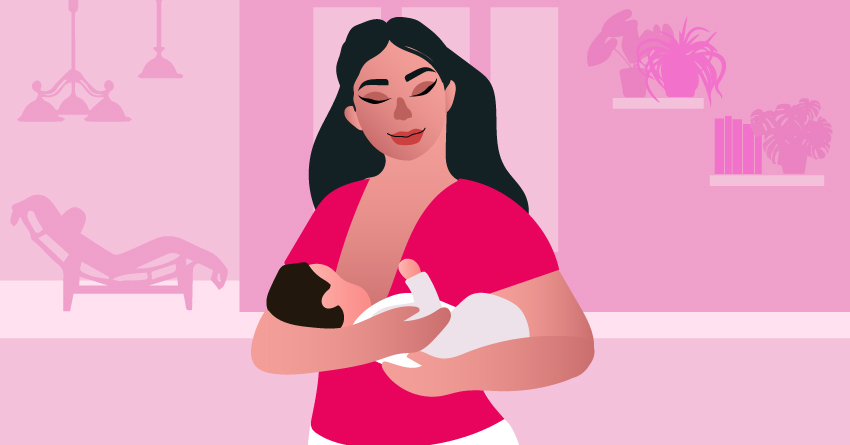 Breastfeed as much as possible.