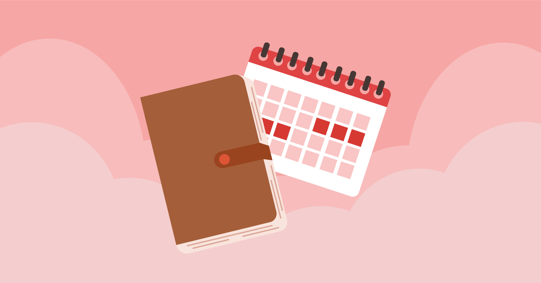Keep a journal to track your monthly cycles