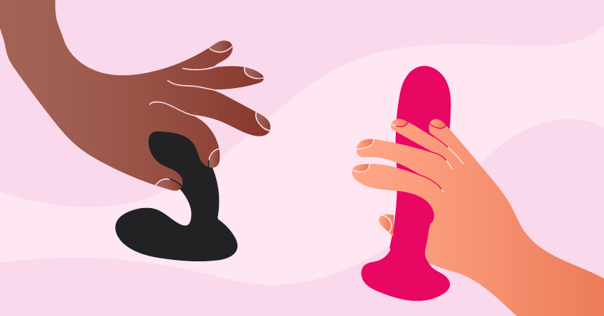 You can't use sex toys if you have a physical disability.