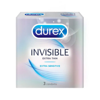 Durex Condoms Invisible 3s