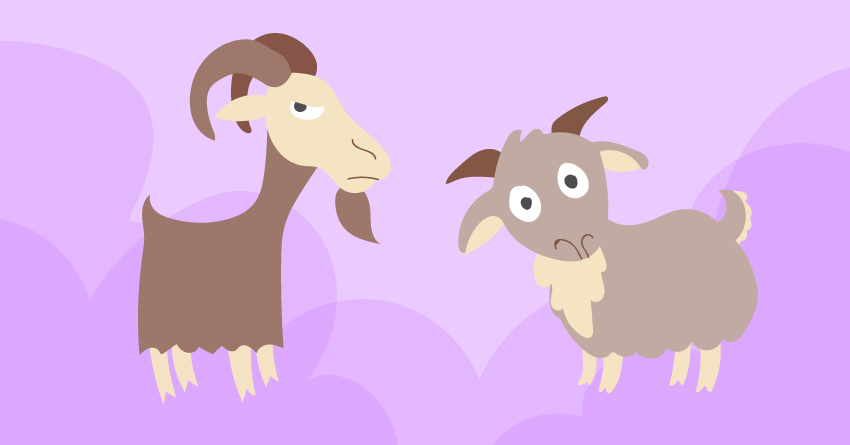 Did you know that the first condom was made of a goat's bladder sheath?