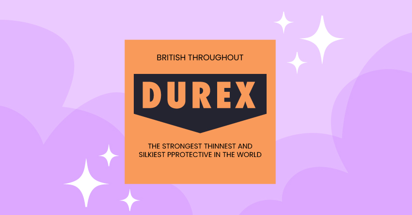 Did you know that Durex introduced the world's first lubricated condom?