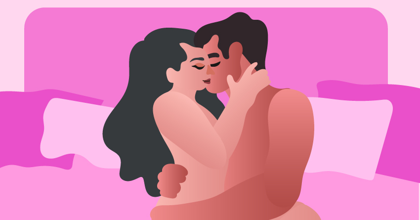 Start with a steamy makeout session.