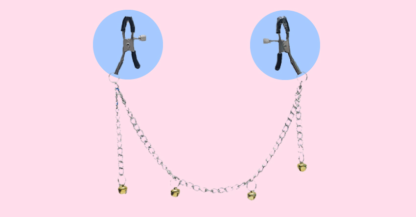 Minerva Nipple Clamps With Bells