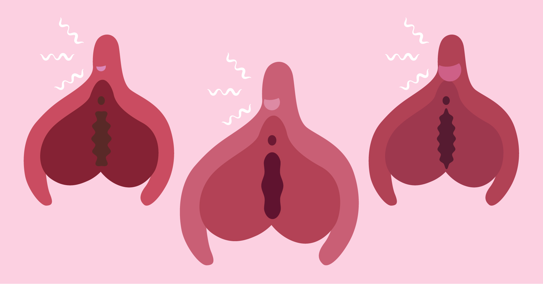 The size and location of your clitoris glans can affect your orgasms