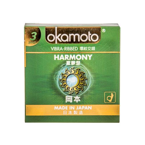 Okamoto Harmony Condoms 3s