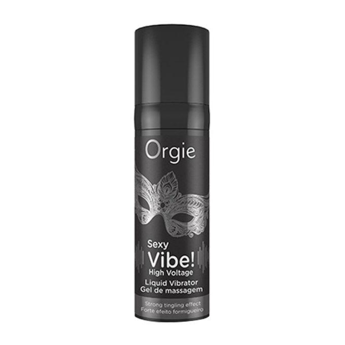 Orgie Sexy Vibe High Voltage Liquid Vibrator