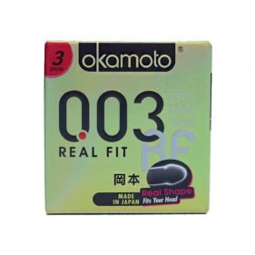 Okamoto 003 Real Fit Condoms 3s