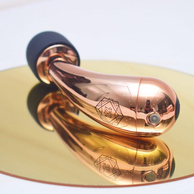 Rosy Gold Mini Curve Massager