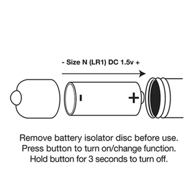 Rocks Off Rainbow Bullet Vibrator