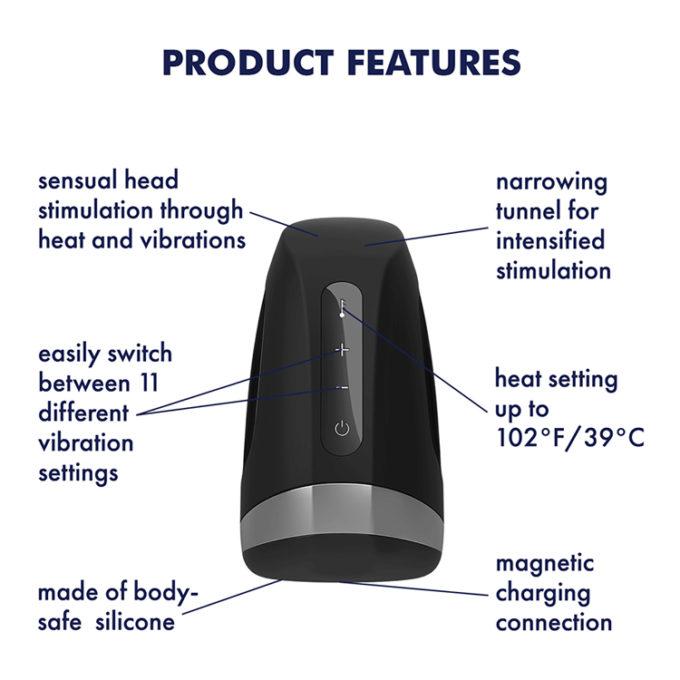 Satisfyer Men Heat Vibration