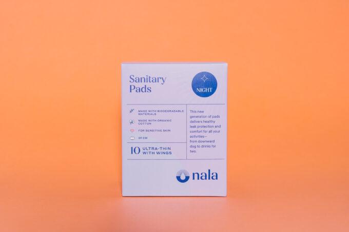 Nala Biodegradable Night Pads