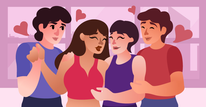 The essence of polyamory is to spread the love by loving others