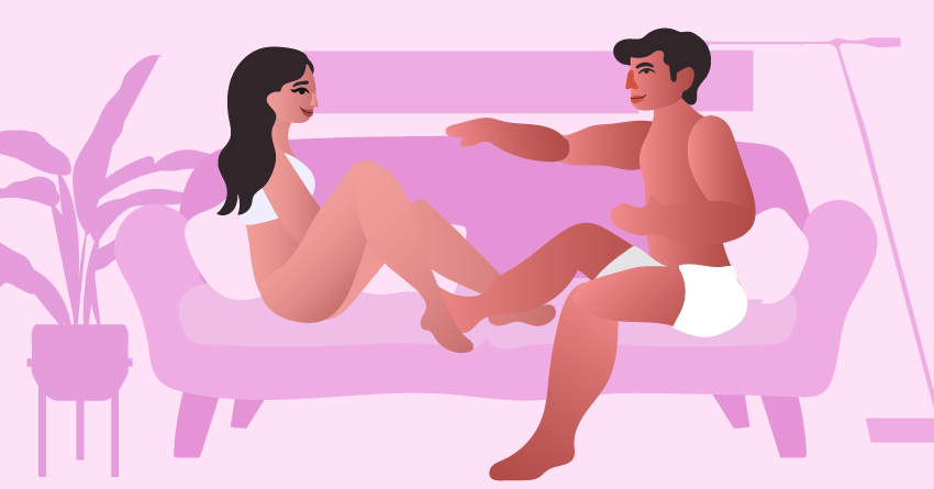 Check in with your partner before any dirty talking.