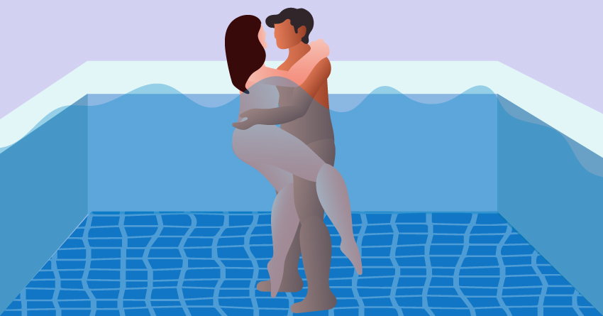 Pool Sex Positions / Underwater Sex Positions