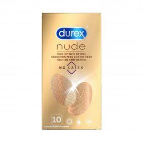 Durex Nude Condoms 10s - Latex-Free