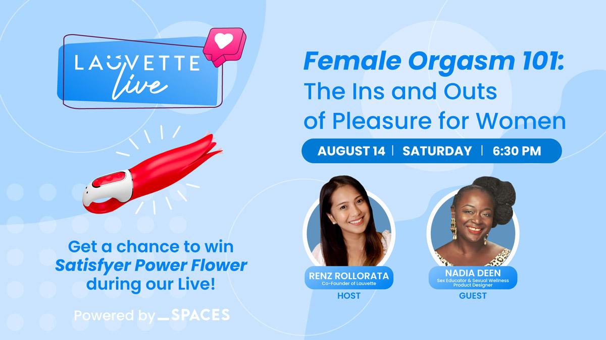 Lauvette Live - Female Orgasm 101