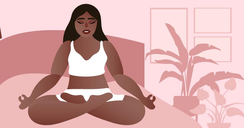 Begin with breathwork.