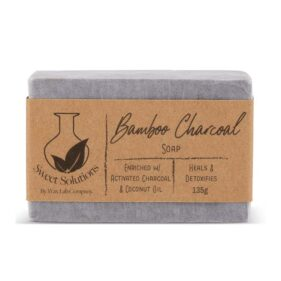 Sweet Solutions Bamboo Charcoal Soap