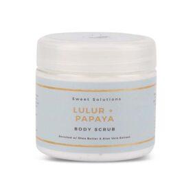 Sweet Solutions Lulur Papaya Body Scrub
