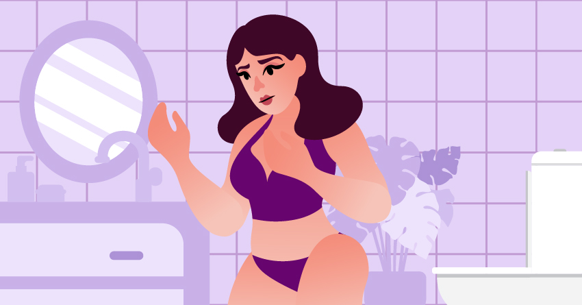 You believe that your body is not attractive enough to have sex.