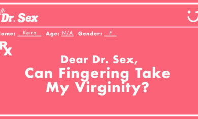 Can Fingering Take My Virginity?